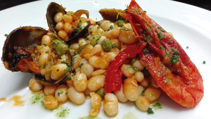 Fesols de Santa Pau a la marinera - Restaurant Can Xel