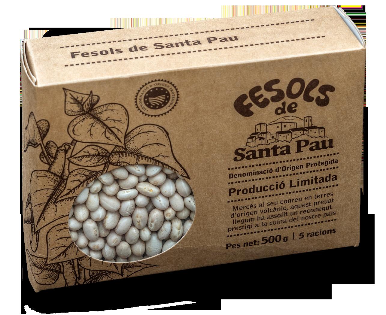 Envàs DOP Fesols de Santa Pau
